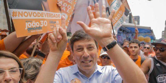 João Amoêdo é fundador do partido Novo, que hoje conta com 20 mil filiados e 4 vereadores