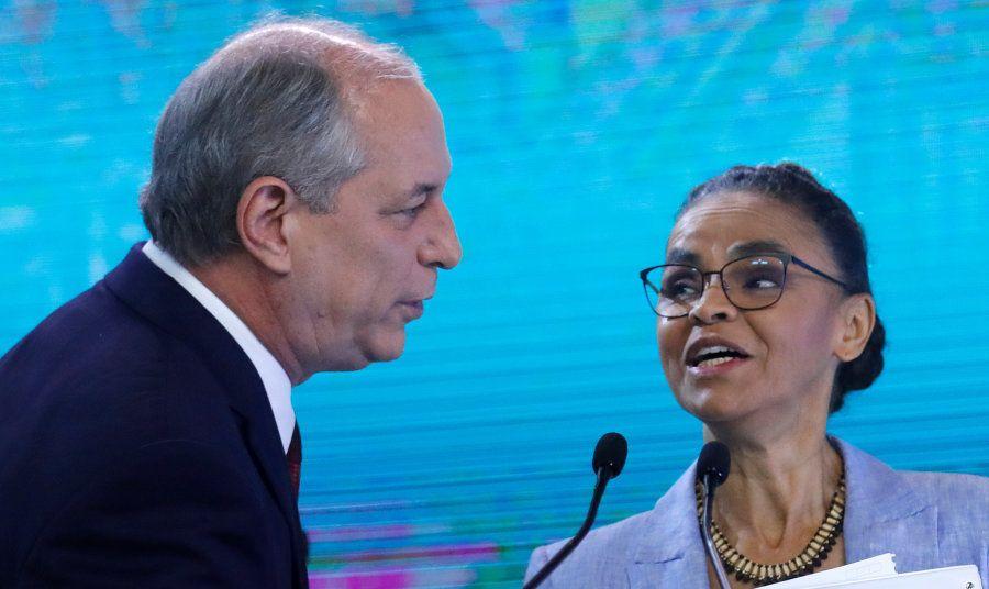 Ciro Gomes e Marina Silva fizeram dobradinha em diversos debates na