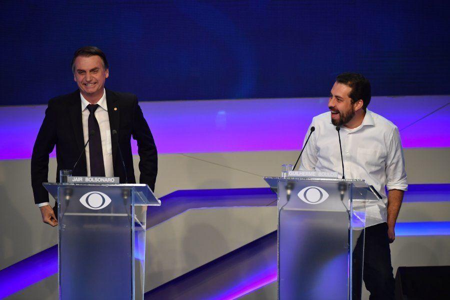 Boulos enfrentou Bolsonaro sempre que pode durante a campanha; a começar pelo debate da Band, quando...