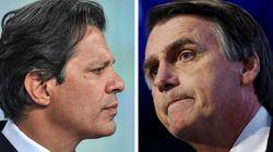 Em debate da Record, adversários carimbam Haddad e Bolsonaro de