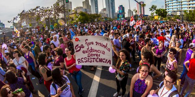 Manifestação #EleNão em São Paulo reuniu 500 mil participantes, segundo