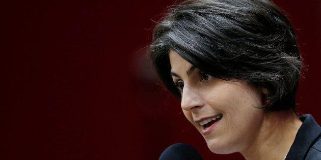 Manuela D'Ávila: 'As mulheres brasileiras não darão nenhum passo
