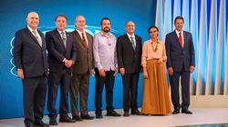 Haddad sobe o tom contra Bolsonaro, e polarização domina debate da TV