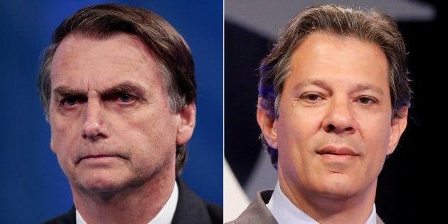 Bolsonaro x Haddad: Polarização está mantida para o 2º