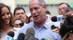 'Ele não, sem dúvida', diz Ciro Gomes sobre apoio no 2º