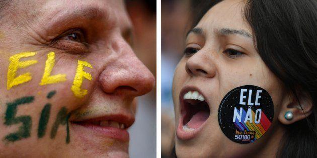 Ansiedade e tristeza permeiam o clima de polarização