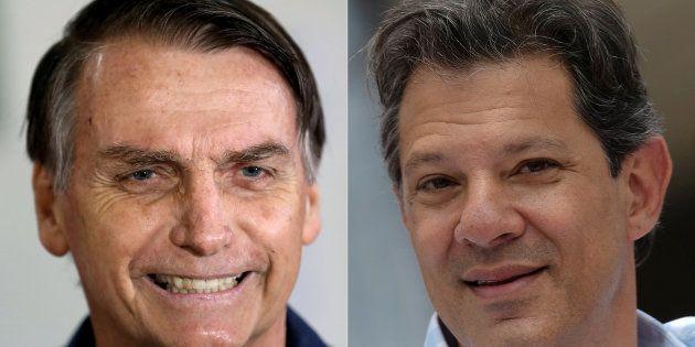 Jair Bolsonaro e Fernando Haddad terão tempos iguais de programa gratuito na