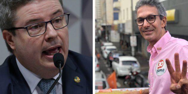 Antonio Anastasia (PSDB) e Romeu Zema (Novo) disputam o governo de Minas no 2º