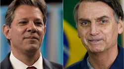 Datafolha: Bolsonaro tem 58% e Haddad,