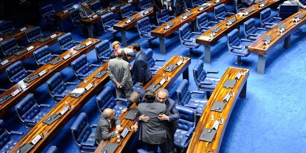 """""""Reformas de maior profundidade têm que ser feitas pelo próximo presidente"""", disse presidente do Senado,..."""