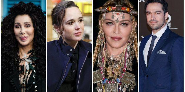 Cher, Ellen Page, Madonna e Alfonso Herrera: artistas internacionais que posicionaram contra