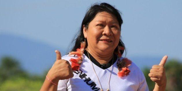 Joenia Wapichana, será a primeira mulher indígena a ocupar uma cadeira em 194 anos de história da Câmara...