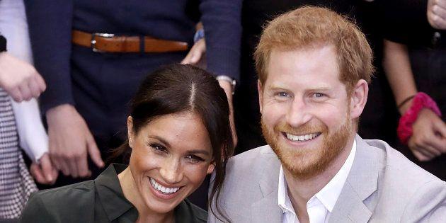 O príncipe Harry e Marklese casaramem maio deste