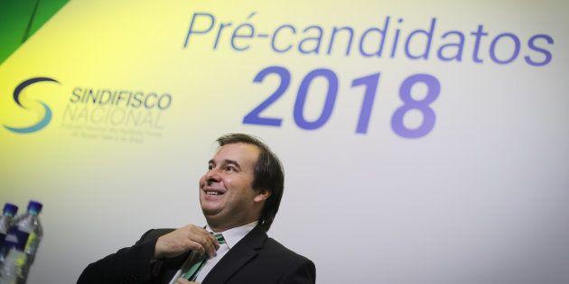 Presidente da Câmara dos Deputados, Rodrigo Maia (DEM-RJ) quer se reeleger para o cargo em