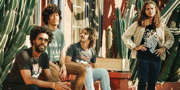 A banda goiana Boogarins é um dos destaques do festival No Ar Coquetel