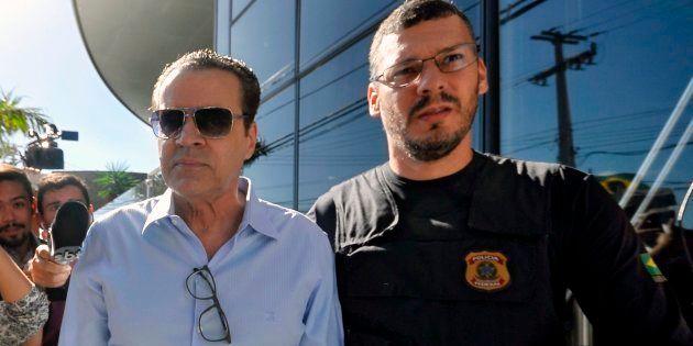 Ex-ministro Henrique Eduardo Alves foi preso preventivamente em junho de 2017, na Operação Manus, um...