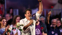 Haddad comemora crescimento na capital paulista: 'A eleição estava decidida até