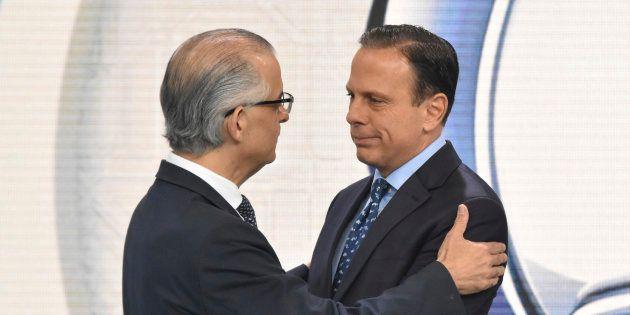 Márcio França e João Doria: Climão de 5ª série marca disputa pelo governo