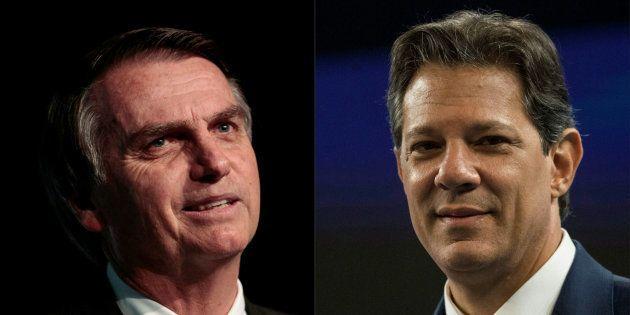 Na TV, Bolsonaro se apresenta como 'cara humano' e Haddad cola opositor a