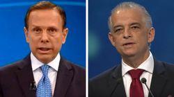 Debate Globo: Doria e França têm último confronto nesta quinta-feira, dia