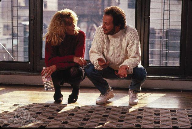 Cena do filme Harry e Sally - Feitos um Para o