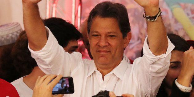 Fernando Haddad teve 44,8% dos votos