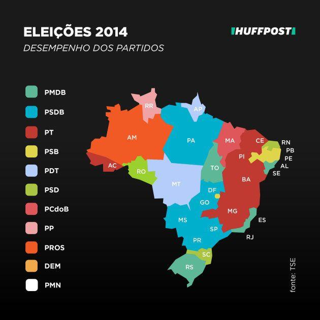 Mapa eleitoral de