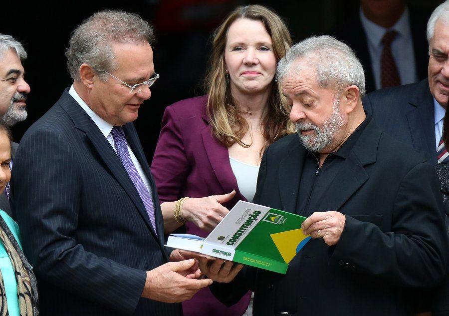 Renan Calheiros e Lula: a velha aliança entre MDB e