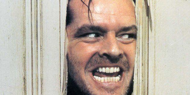 Jack Nicholson em uma das cenas mais icônicas do cinema de