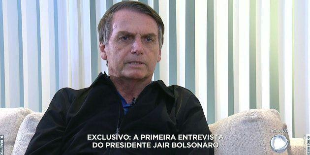 Jair Bolsonaro concede primeira entrevista como presidente eleito à TV