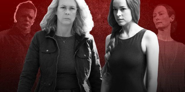 Jamie Lee Curtis e Dakota Johnson protagonizam