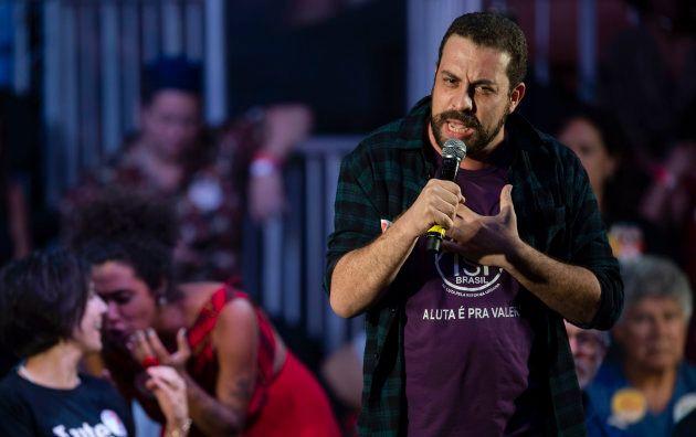 Líder do MTST, Guilherme Boulos é uma das vozes dos movimentos sociais na oposição a