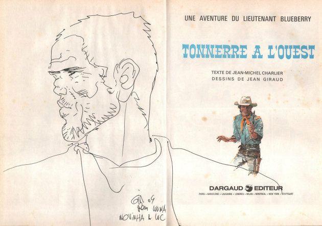 O Tenente Blueberry foi criado e consagrou-se com texto de Jean-Michel Charlier e desenho de Jean Giraud