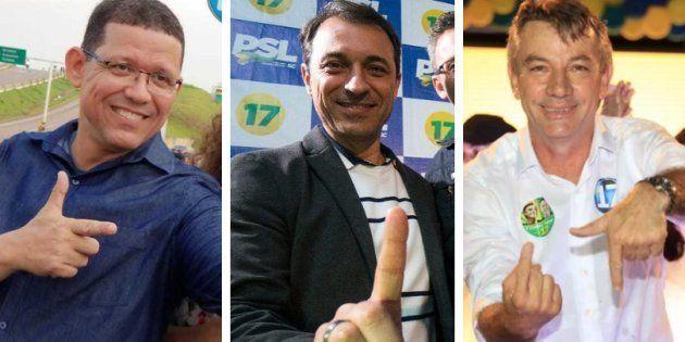 Dos governadores do partido de Jair Bolsonaro, um é representante do agronegócio e os outros dois de...