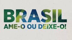 SBT resgata 'Brasil, ame-o ou deixe-o', slogan da
