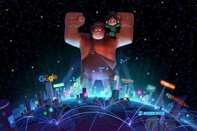 A animação Wifi Ralph - Quebrando a Internet estreia no Brasil em 3 janeiro de