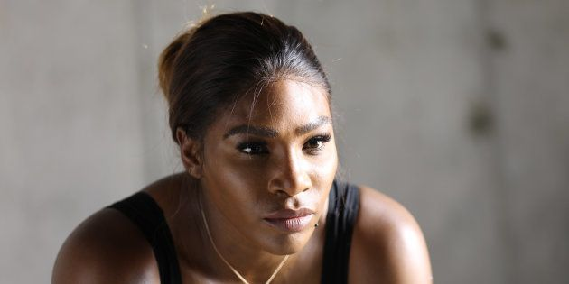 Serena Williams é embaixadora da Allstate Foundation Purple Purse, que tem o objetivo de acabar com a...