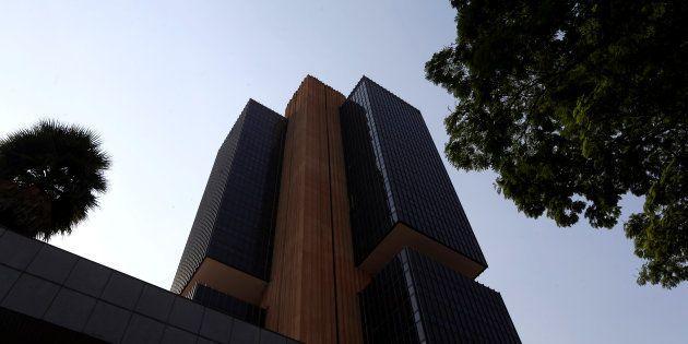 O prédio do Banco Central, em