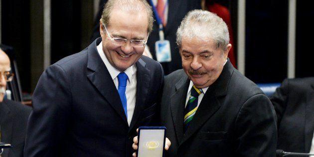 Renan Calheiros chegou à presidência do Senado pela primeira vez no governo Lula e voltou a apoiar o...