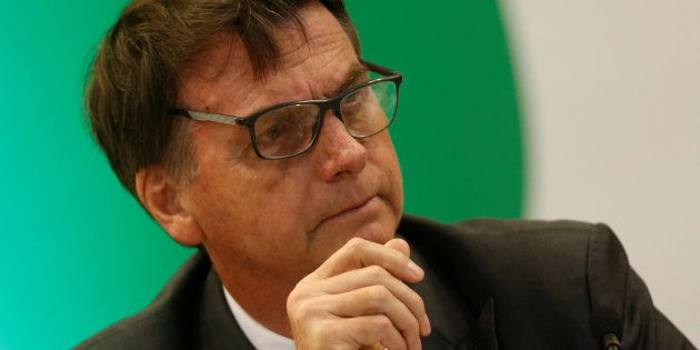 Aos jornalistas no Rio de Janeiro, Bolsonaro disse ainda que vê
