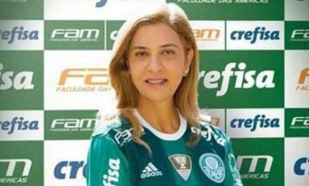 Presidente da Crefisa, Leila Pereira sonha com Palmeiras campeão do