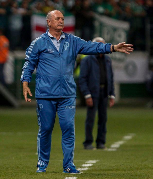 Felipão foi o principal responsável pela arrancada do Palmeiras rumo ao