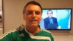 Bolsonaro dá parabéns ao Palmeiras pelo decacampeonato