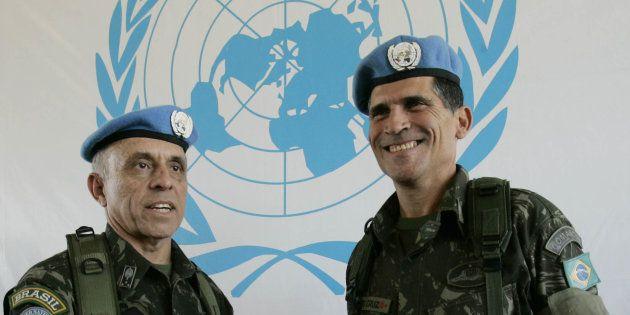 Futuro ministro da Secretaria-Geral, Carlos Alberto dos Santos Cruz foi comandante das forças da ONU...