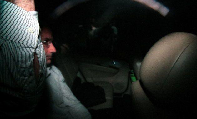 Marcelo Odebrecht chega à sua casa para cumprir prisão domiciliar, em dezembro de