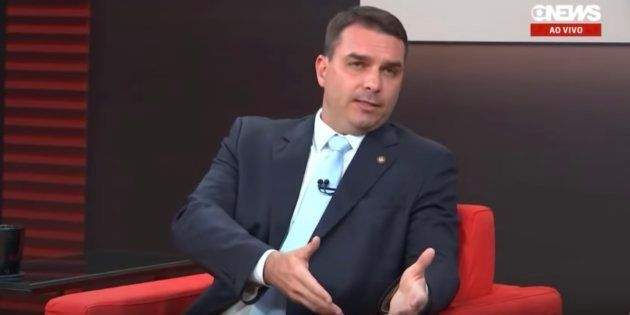 Senador eleito, Flávio Bolsonaro (PSL) diz que as pessoas não aguentavam