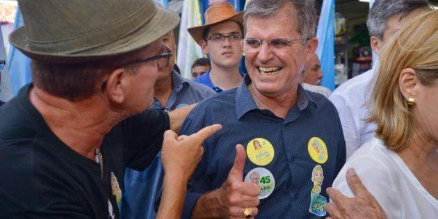 O general da reserva Guilherme Theophilo, em campanha no Ceará, onde disputou o cargo de governador neste