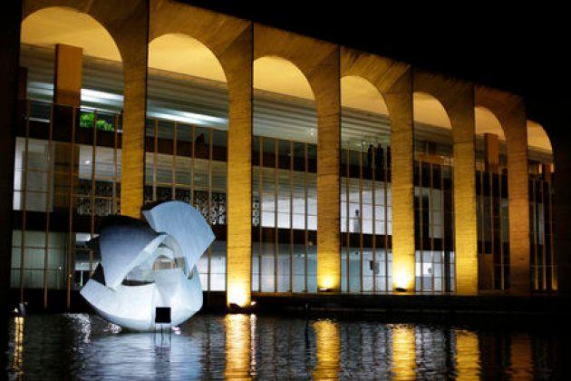 Palácio do Itamaraty, em