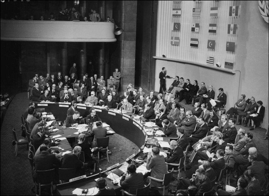 Foi ao fim desta 3ª assembleia da ONU que a declaração foi