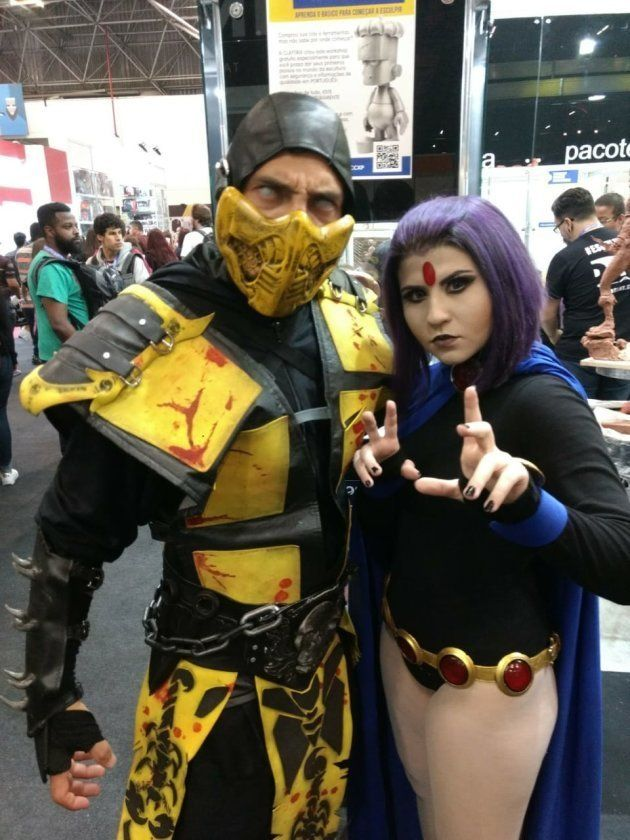 Scorpion e Ravena: crossover do game Mortal Combat e os Jovens